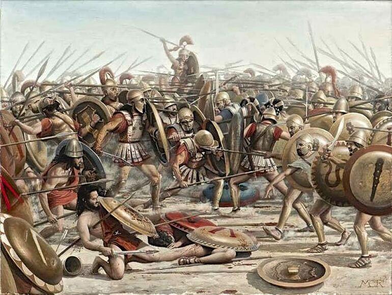 Фобос и Деймос несли ужас и смерть во время войн