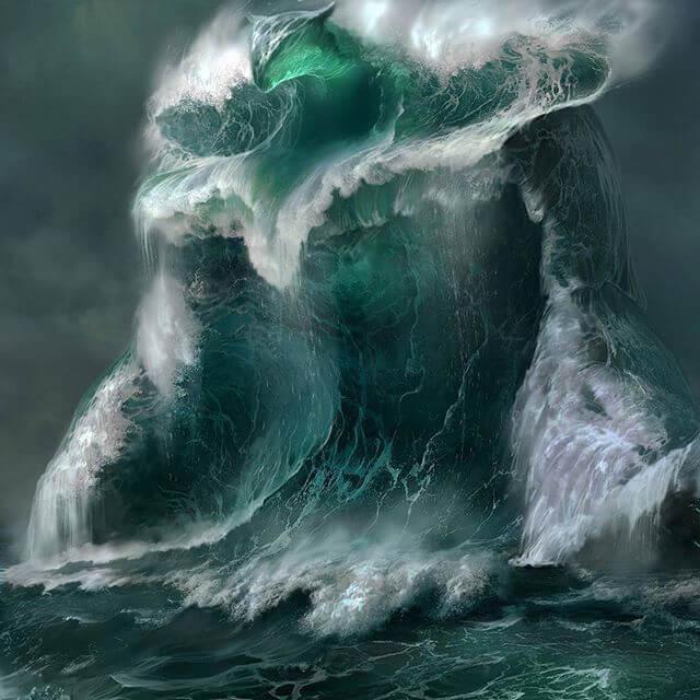 Голос моря не имеет облика, но может существовать в реальности