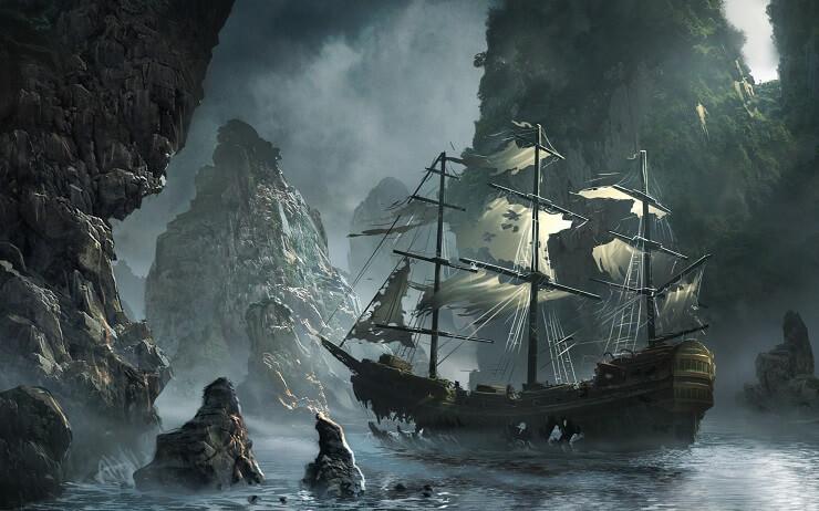 Голос моря становился причиной появления кораблей-призраков