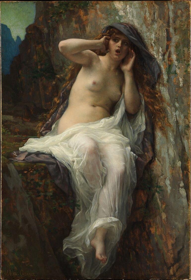 Александр Кабанель. Эхо (1887)