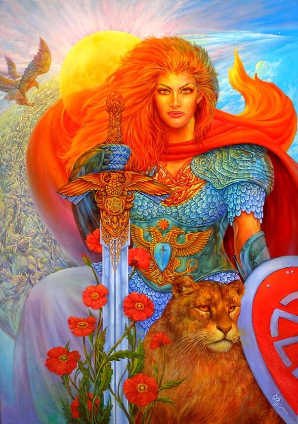 Дива-Додола была под стать своему супругу Перуну