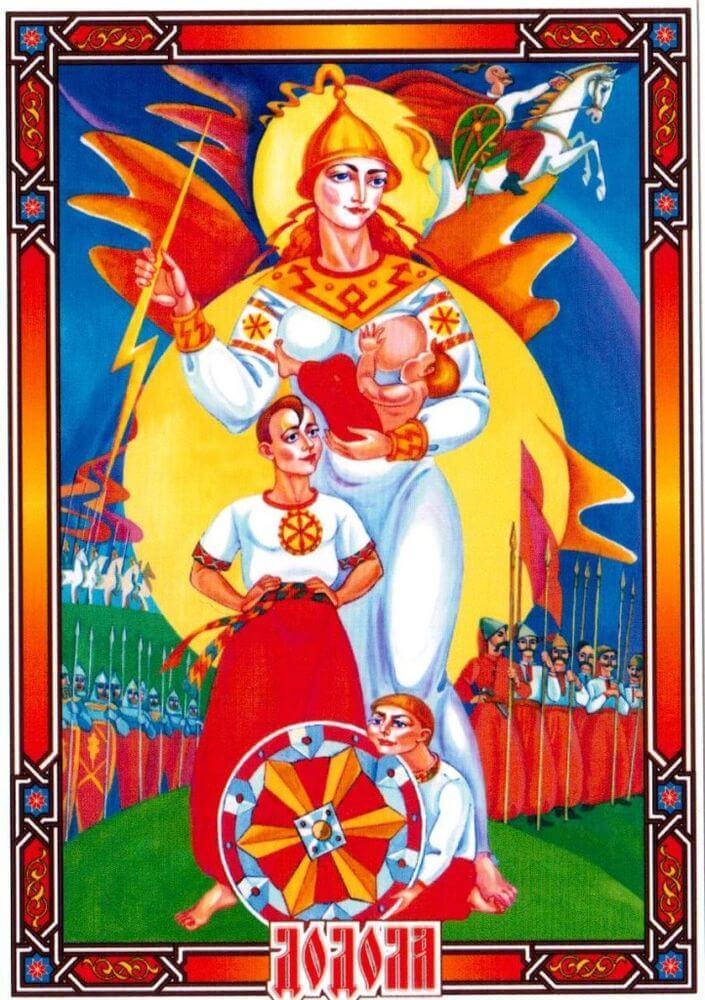 Дива-Додола - защитница и покровительница материнства