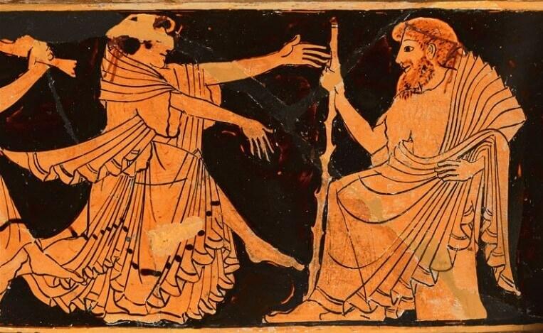 Древнее изображение Нерея