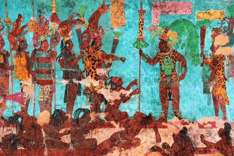 Древние майя часто совершали кровопролития во имя богов