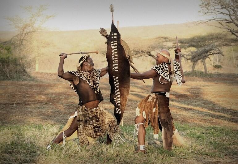 Древний танец зулусов