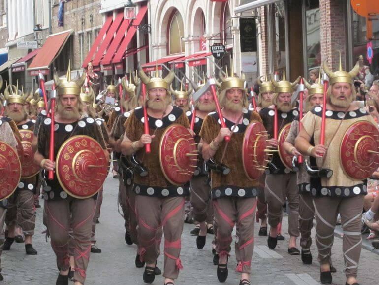 Фестиваль викингов - любимый праздник датчан
