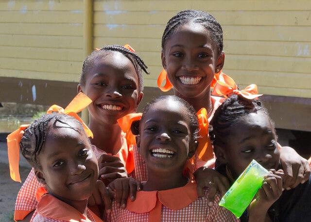 Гайанцы - один из самых улыбчивых народов