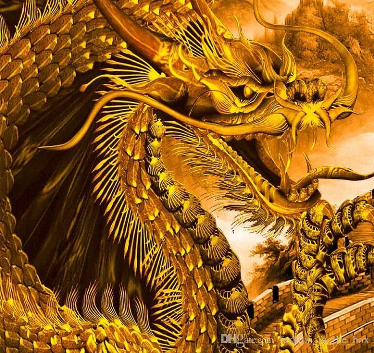 Грозный дракон неспроста стал символом Китая