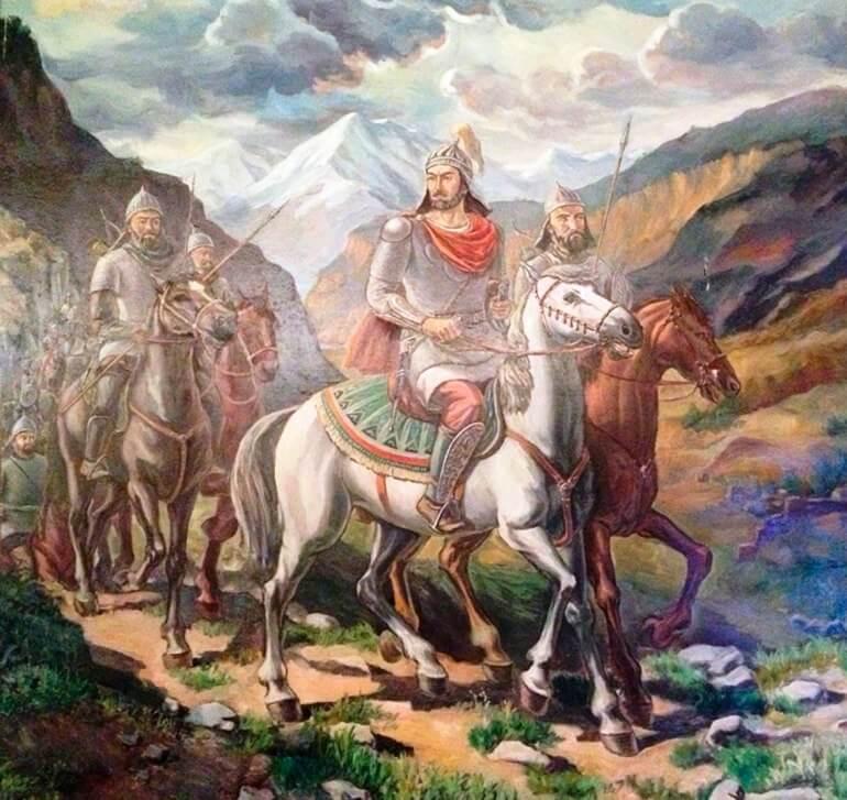 Хазары были сильным и воинственным народом