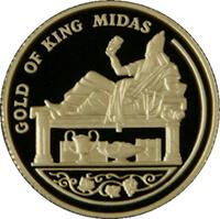 Изображение Мидаса на монете