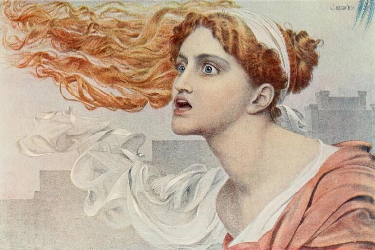 Кассандру считали безумной, но она предвидела судьбу Трои