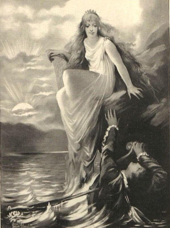 Лорелея и её возлюбленный