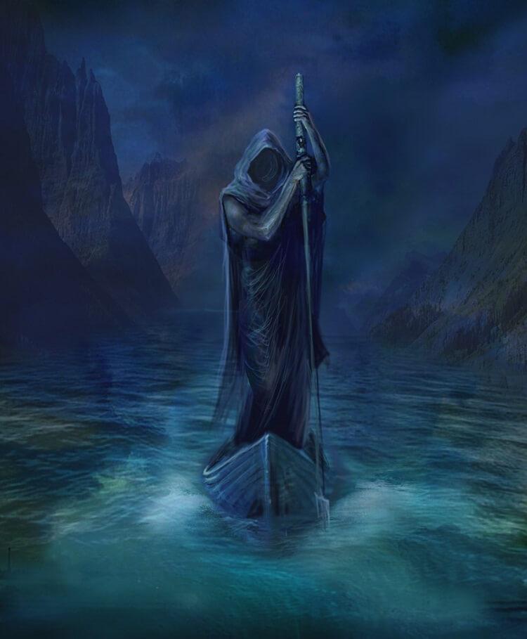 Мрачный лодочник Харон провозил через Стикс души умерших