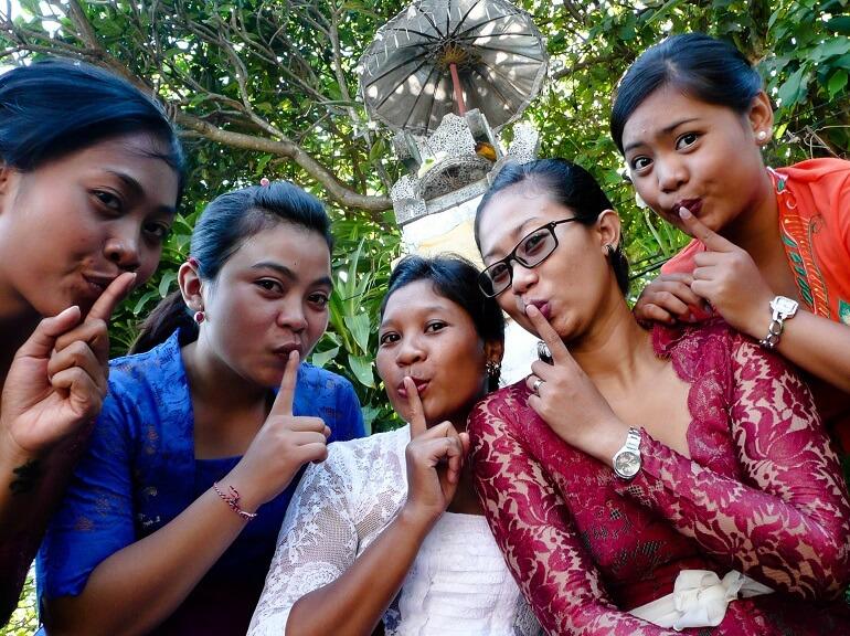 Новый год на Бали - день тишины