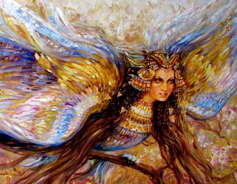 Птица Стратим могла нести как гибель, так и спасение