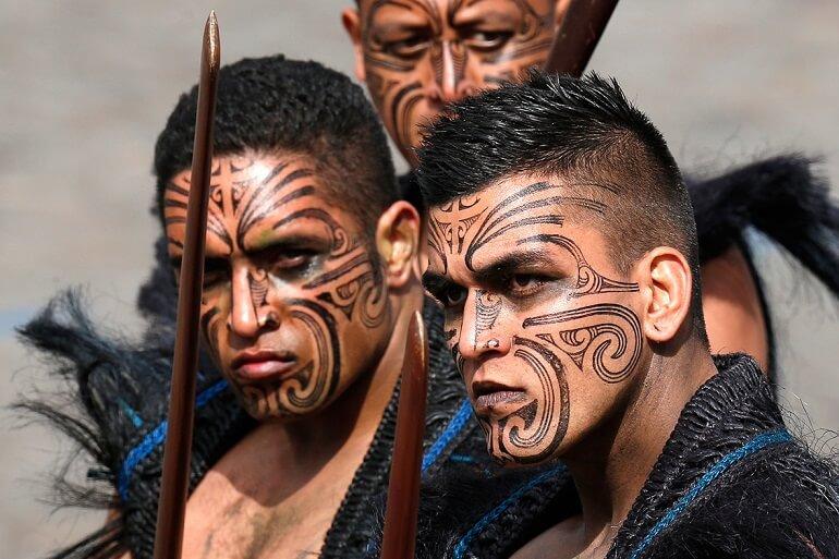 Татуировки маори могут рассказать о многом