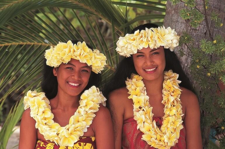Цветы тиаре у таитян - не просто украшение