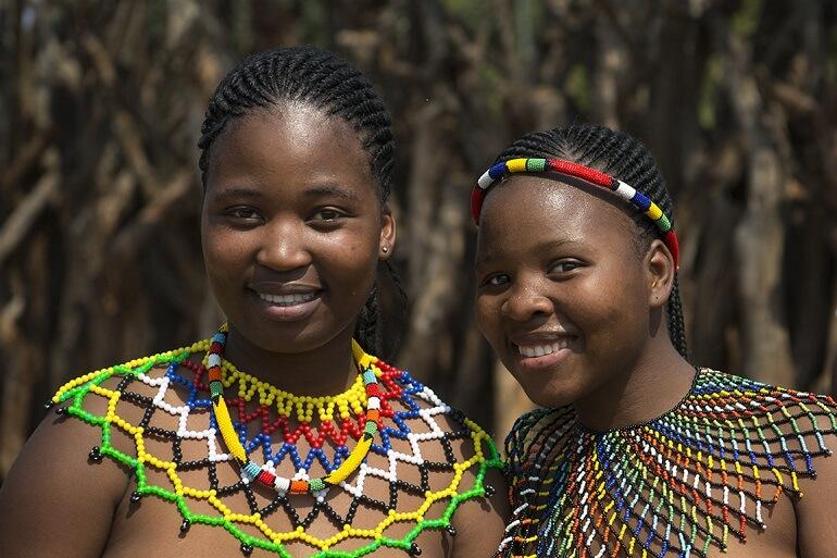 Украшения у зулусов имеют особое значение
