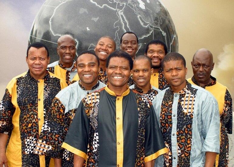 Знаменитый зулусский ансамбль Ladysmith Black Mambazo