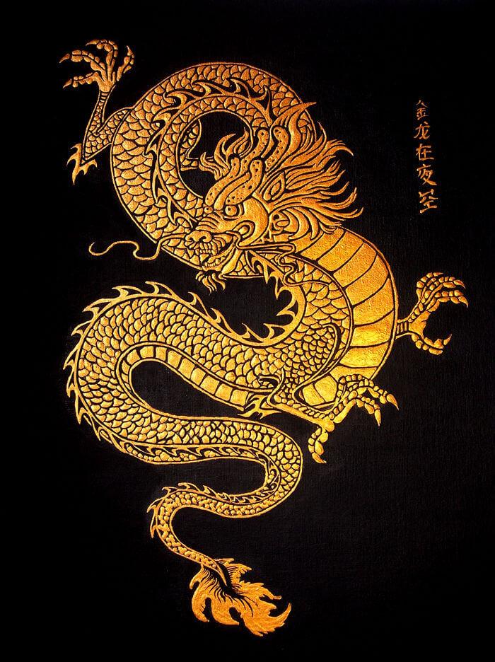Золотой Дракон стал прародителем прочих драконов