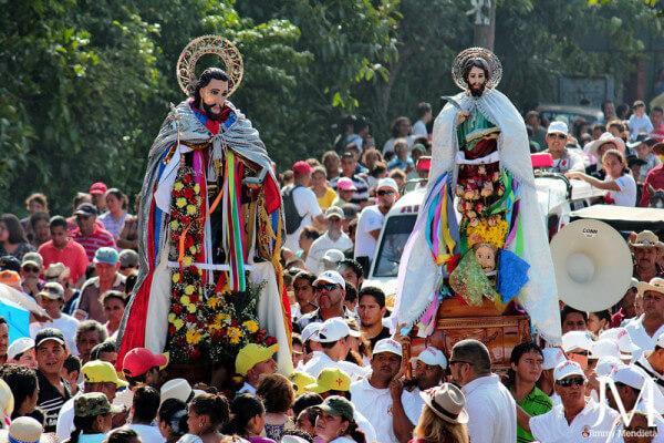 Фестивали и карнавалы - важная часть жизни никарагуанцев