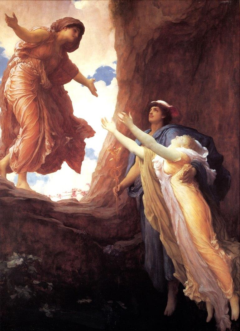 Фредерик Лейтон. Возвращение Персефоны (1891)