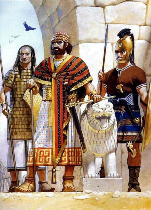 Хетты - древний воинственный народ