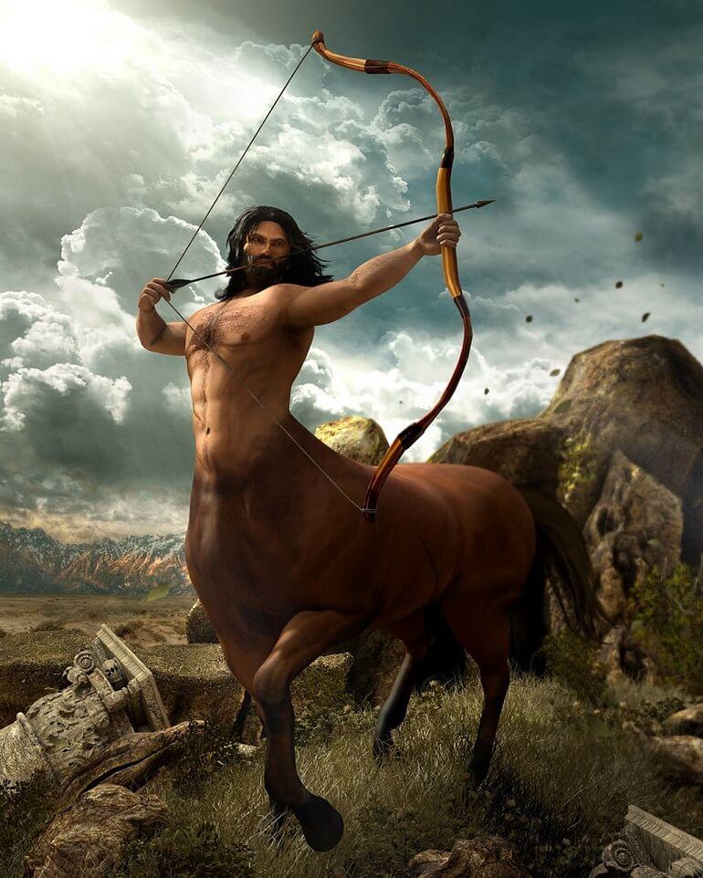 Хирон - кентавр Древней Греции