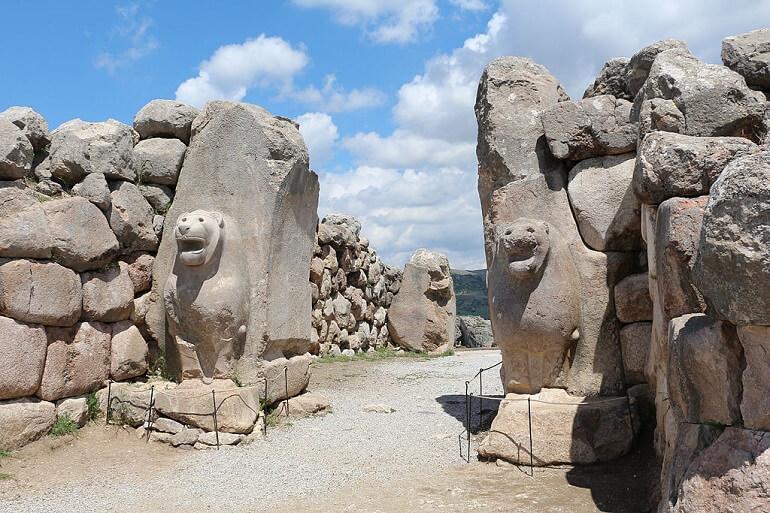 Львиные врата Хаттусы - столицы Хеттской империи