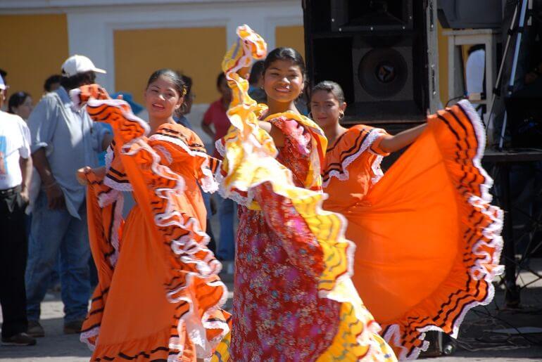 Никарагуанцы обожают петь и танцевать