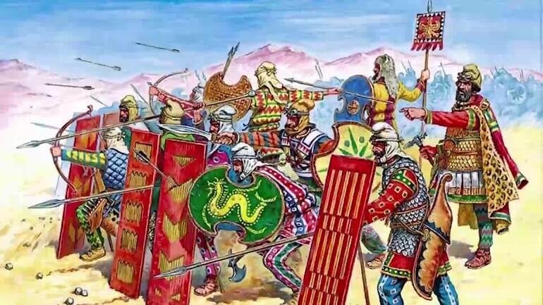 Персы были знаменитым народом завоевателей