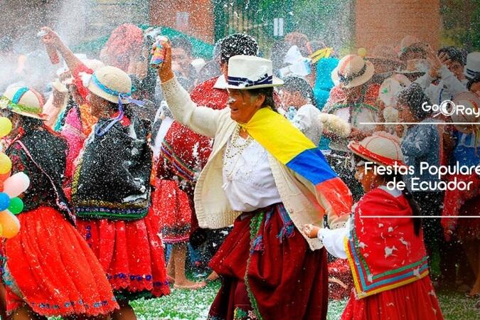 Во время карнавала эквадорцы обсыпаются мукой
