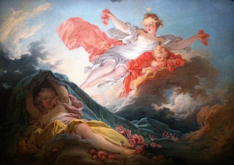 Жан Оноре Фрагонар. Аврора, торжествующая над Ночью