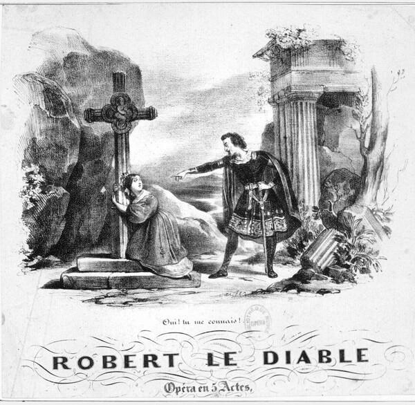 Легенда о Роберт-дьяволе появилась много веков тому назад