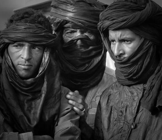 Ливийцы из общины туарегов