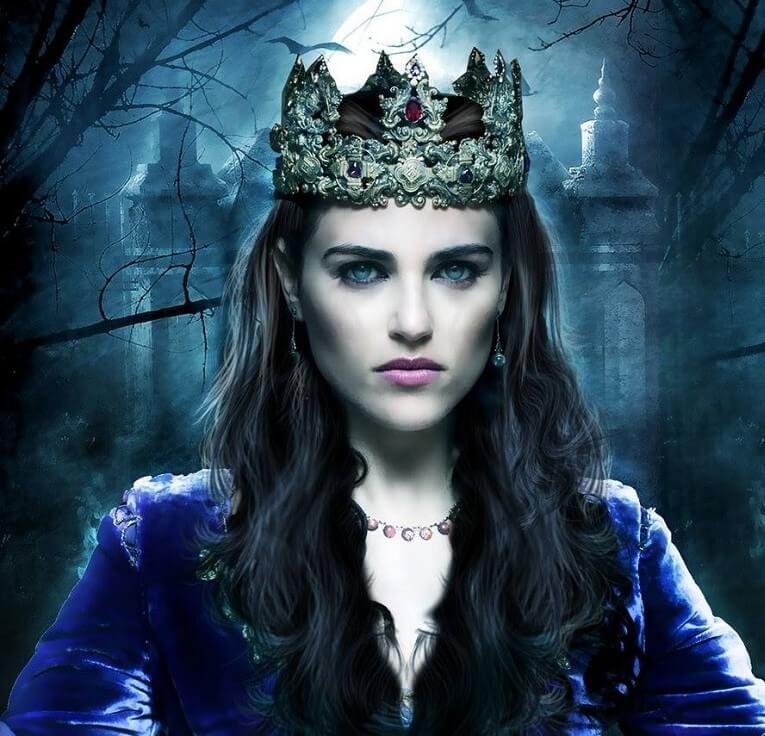 Моргана была колдуньей королевских кровей
