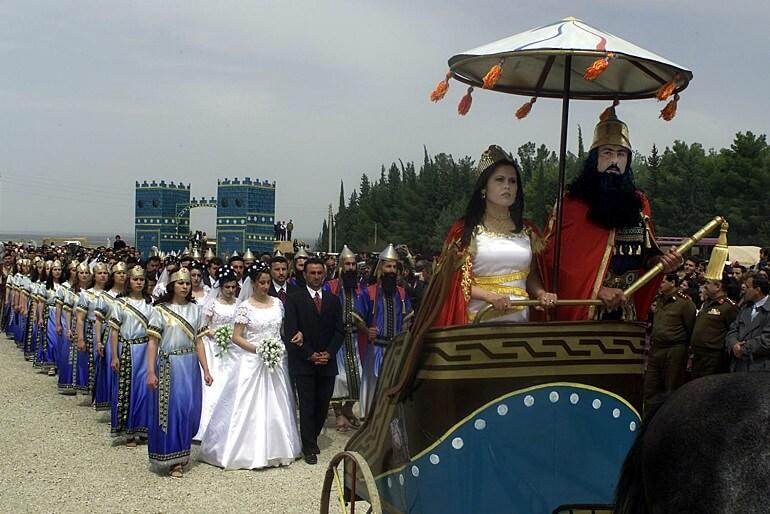 Празднование Нового года у ассирийцев попадает на начало апреля