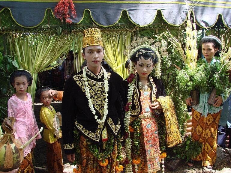 Свадьба яванцев - сложная система различных ритуалов