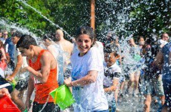 Армянский праздник воды