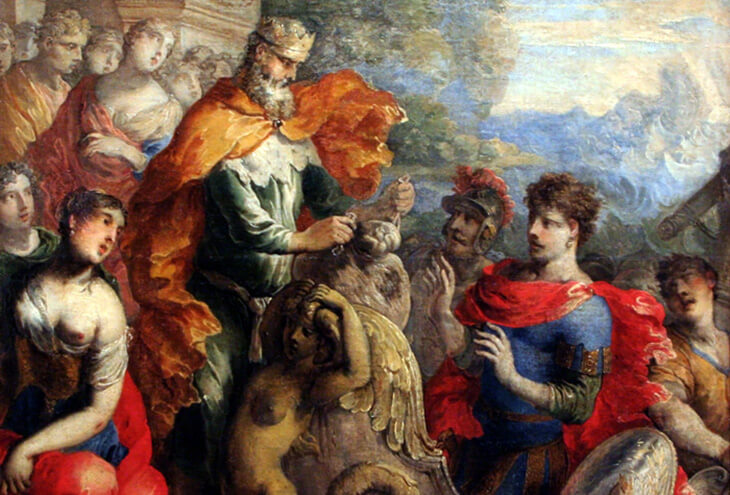 Эол и Одиссей