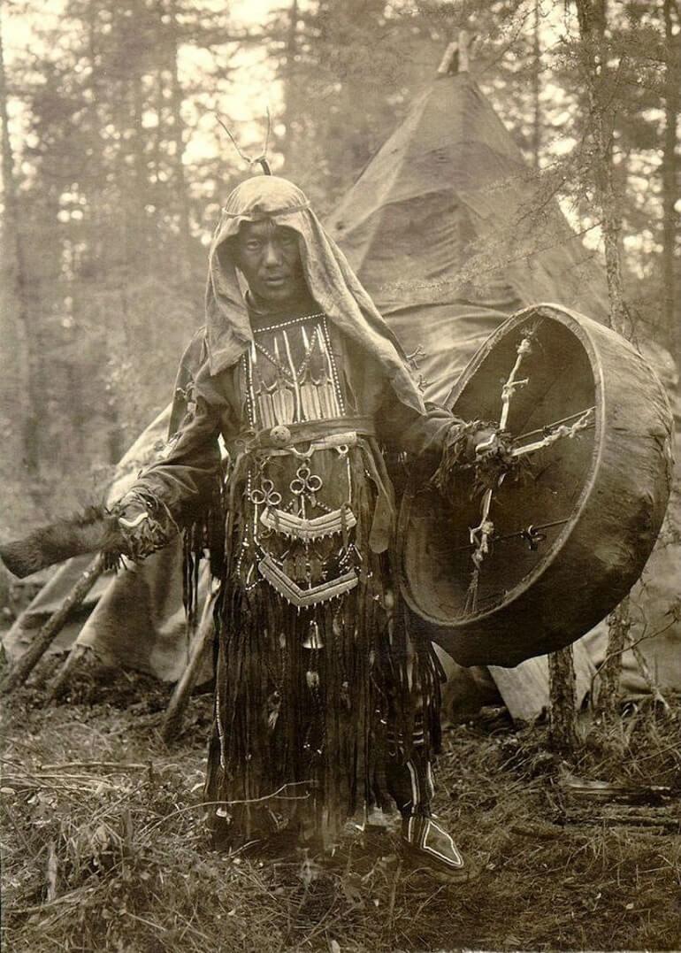 Эвенкийский шаман