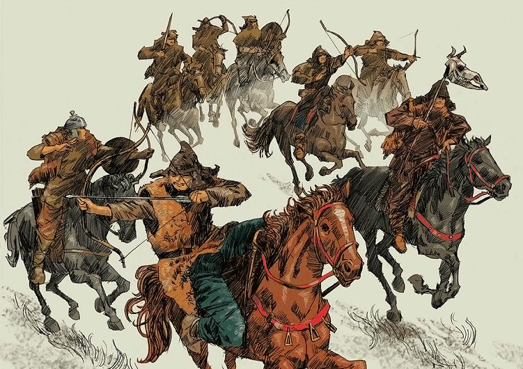 Гунны - народ жестоких завоевателе