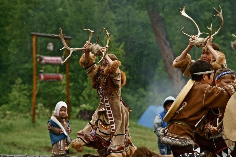 Многие обряды эвенков связаны с охотой