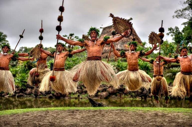 Ритуалы меланезийцев часто связаны с религией