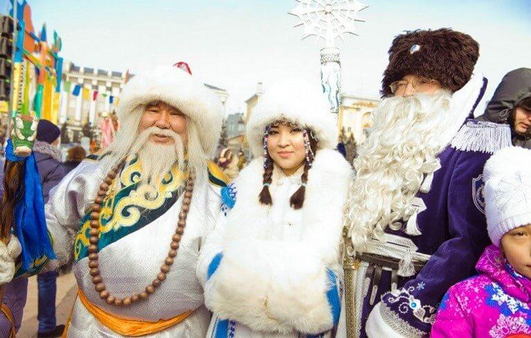 Сагаалган - Новый год в Бурятии