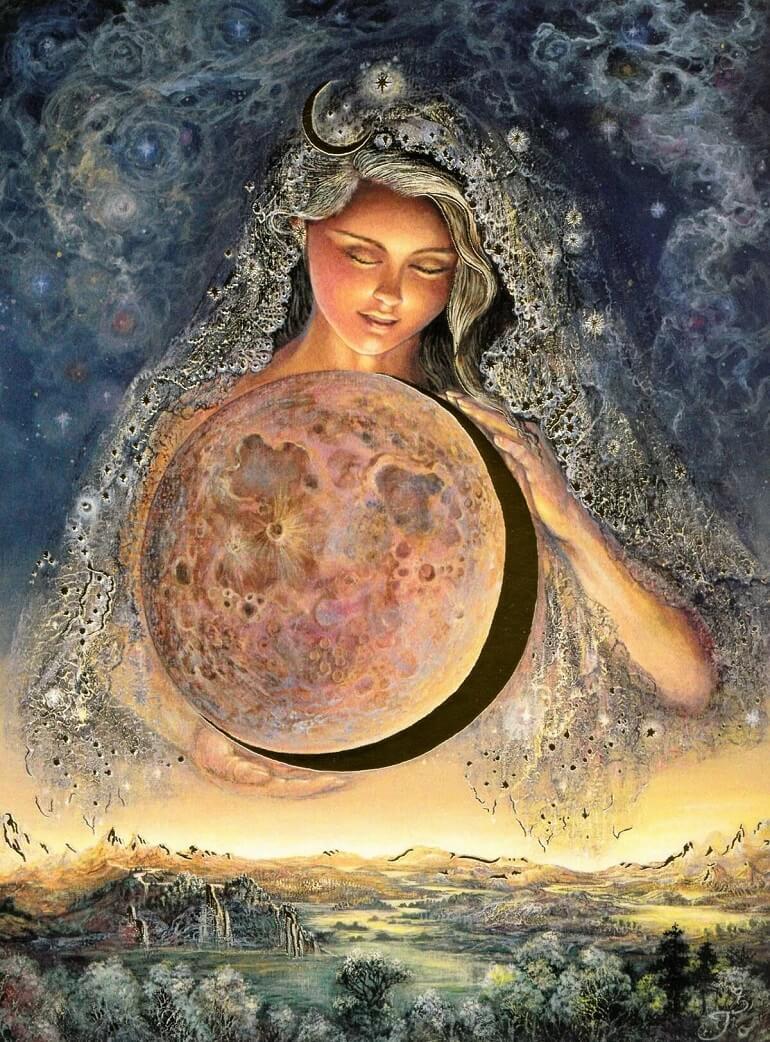Селена - лунная богиня Греции