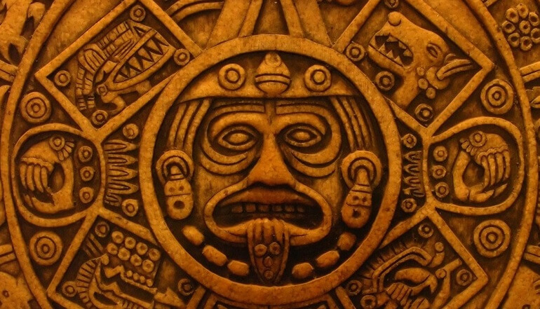Ацтеки создавали удивительные скульптуры и фрески