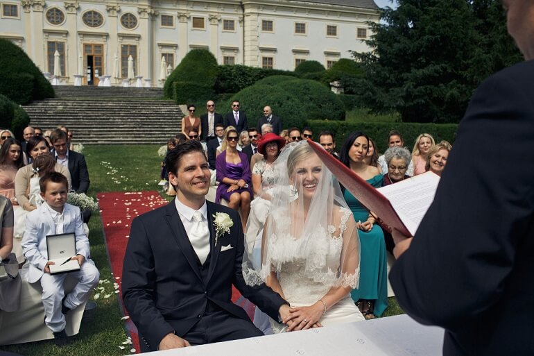 Австрийская свадьба порой кажется необычной