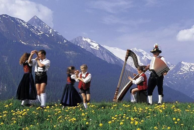 Австрийцы - музыкальный народ