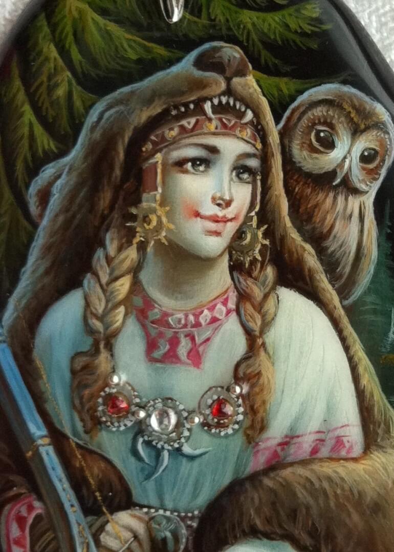 Девана (Зевана) - жена Святобора